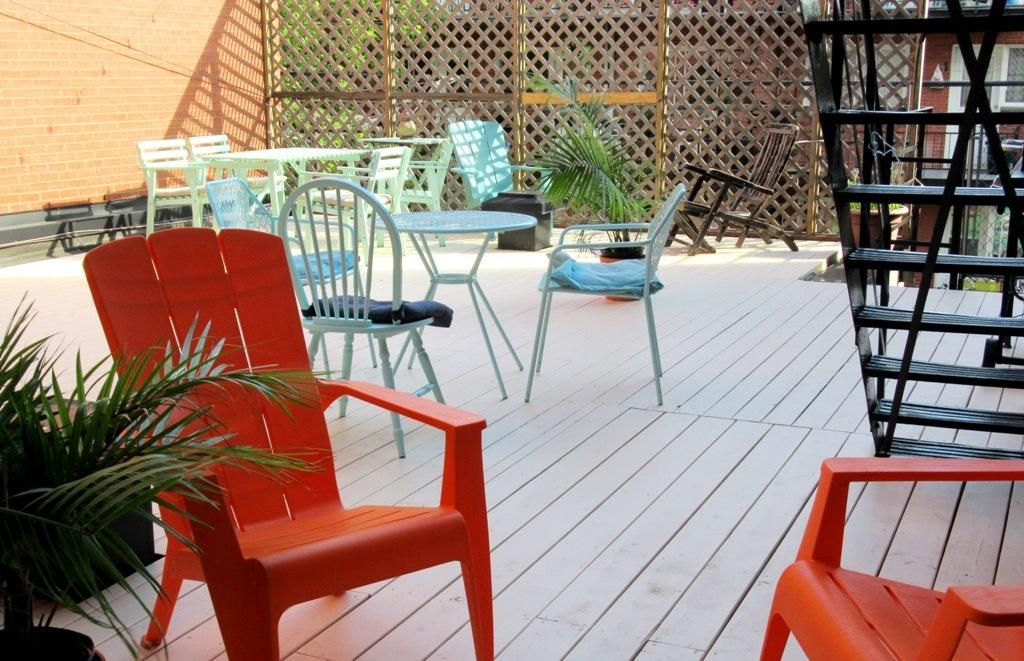 Journée coworking-codéveloppement en terrasse